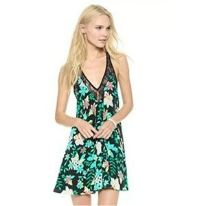 New Lovers + Friends Electric Hibiscus Dress
